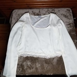 White TOBI blouse